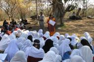Wildlife Conservation education  programme for students