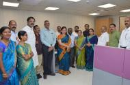 Municipal Office of new expanded building Inaugurated by Hon.Mayor Mukta Tilak