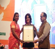 Skoch Gold Award For Participatory Budget